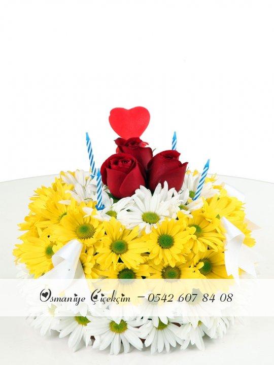 Çiçek Pastasi2