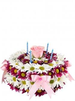 Çiçek Pastası